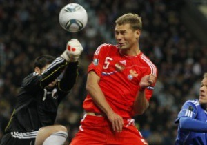 Защитник сборной России надеется избежать встречи с Украиной на Евро-2012