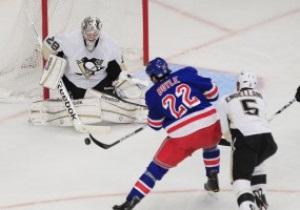 NHL: Рейнджеры разбираются с Пингвинами, Джетс дома уступают Сенаторам