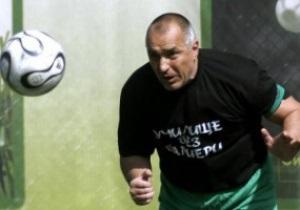 Болгарские фаны считают премьер-министра лучшим футболистом страны