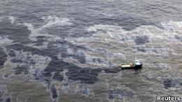 Chevron оштрафована на $28 млн за разлив нефти