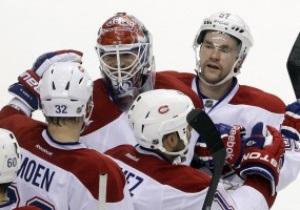 NHL: Montreal Canadiens разгромили Carolina Hurricanes