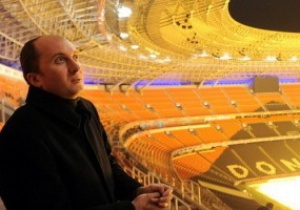 На Донбасс Арене протестирована система инфракрасного обогрева трибун