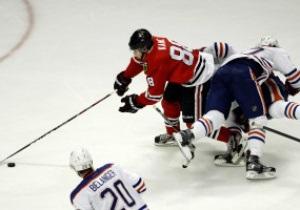 NHL: Chicago Blackhawks обыгрывают Edmonton Oilers