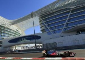 Баттон выиграл первую практику Гран-при Абу-Даби
