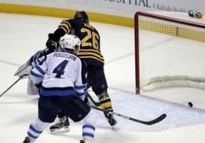 NHL: Winnipeg Jets заставили понервничать фанов Buffalo Sabres