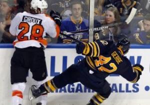 NHL: Buffalo Sabres уступают Philadelphia Flyers, Phoenix Coyotes громят Colorado Avalanche