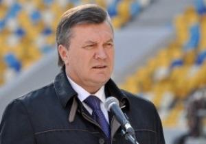 Янукович: Меня заверили, что Арена Львов будет готова к открытию