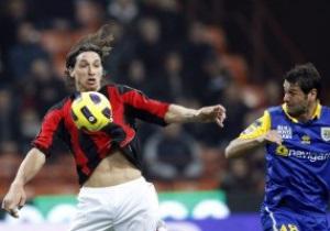Серия А: Милан громит Парму, Интер опять без победы