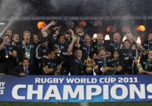 Новая Зеландия - обладатель Кубка Мира по регби