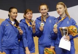 Украинские саблистки выиграли серебро на Чемпионате мира в Италии