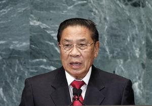 Делегація з Лаосу заглушила хрускотом печива промову свого президента на зустрічі з Матвієнко