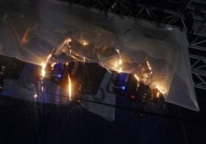 МЧС раскрыло подробности возгорания во время открытия НСК Олимпийский