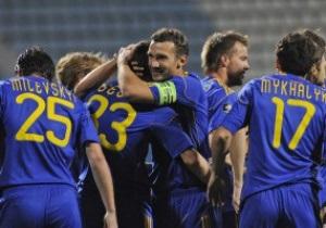 Украина не оставила шансов Болгарии