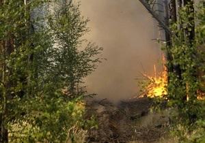 В Одеській області вже добу гасять пожежу у заповіднику