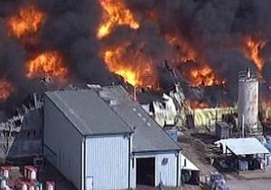 У Техасі загорівся хімзавод