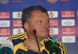 Мирон Маркевич: Неважно мы играли в первом тайме