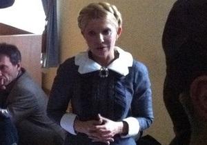 Тимошенко завершила виступ у суді: Я не проситиму помилування