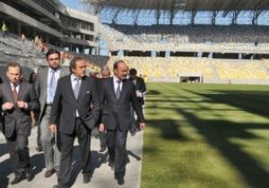 Сегодня Мишель Платини встретится с Януковичем