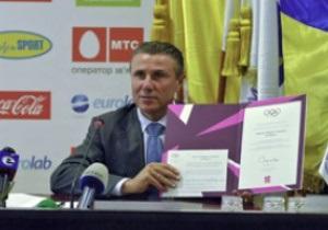 Украина согласилась принять участие в Олимпиаде-2012