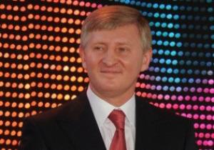 ФК Шахтер поздравил Рината Ахметова с 45-летием