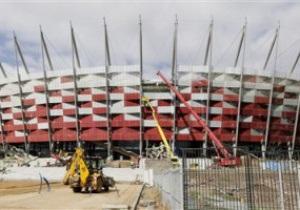 Евро-2012: Строители должны успеть сдать стадион в Варшаве к 30 ноября