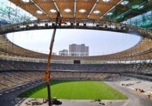На НСК Олімпійський завершено укладання газону