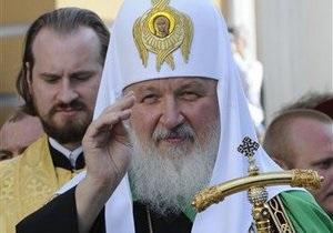 Патріарх Кирило вважає, що його візит до Луганська зміцнить єдність православ я в Україні