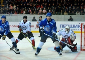 Сегодня в Украине стартует первый профессиональный хоккейный чемпионат
