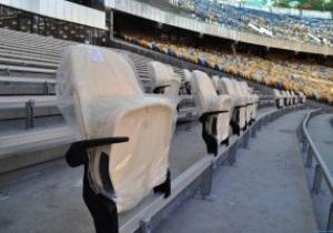 На НСК Олимпийский начата установка сидений в бизнес-секторе
