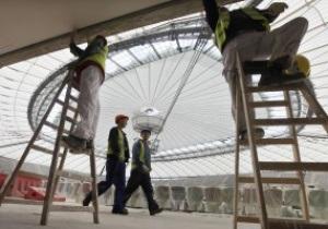 Польские стадионы к Евро-2012 будут сданы в эксплуатацию в ноябре