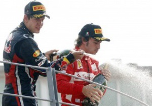 Формула-1. Алонсо пообіцяв Феттелю боротьбу на решті етапів