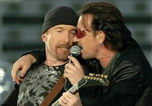 Музиканти U2 стали лауреатами премії Люди року