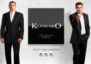 Братья Кличко запустили русскоязычную версию своего официального сайта