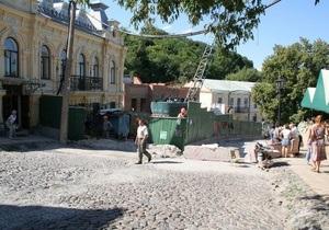 Реставрувати Андріївський узвіз у Києві почнуть у вересні