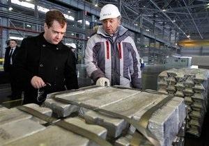Квартальная прибыль крупнейшего производителя алюминия в мире упала на 70%
