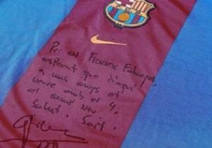 Футболка Барсы, в детстве подаренная Гвардиолой Фабрегасу, оказалась пророческой
