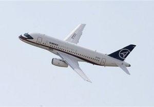 Российская авиакомпания заказала десять самолетов Sukhoi Superjet-100