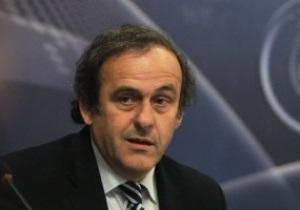 В сентябре Платини проинспектирует ход подготовки Украины к Евро-2012