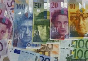 Міцність швейцарського франка загрожує експорту Швейцарії