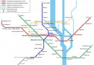 К Евро-2012 в Киеве пронумеруют линии и станции метро