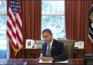 Обама підписав закон про держборг