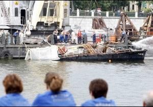 Аварія катера в Москві: 9 загиблих