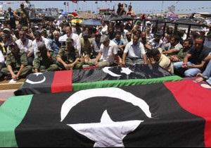 Лівійського генерала вбили повстанці