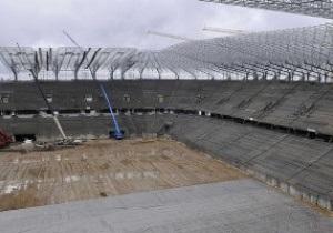 Евро-2012. Стадион во Львове откроют в октябре
