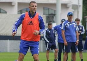 Шевченко повернувся в основну групу Динамо