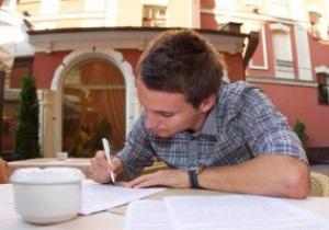 Олейник подписал контракт с Днепром