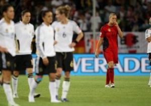 Женский ЧМ-2011. Сборная Японии пробилась в полуфинал, прервав 12-летнюю победную серию Германии