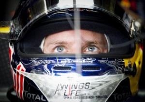 Феттель стал лидером третьей практики Гран-при Великобритании
