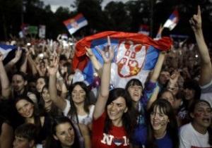 Победителя Wimbledon-2011 Новака Джоковича встретили в Сербии около 100 тысяч болельщиков