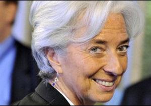 Крістін Лаґард розпочинає роботу на посаді керівника МВФ